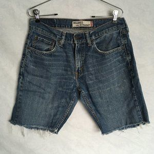 Levi's 559 Cut Off Jean Shorts